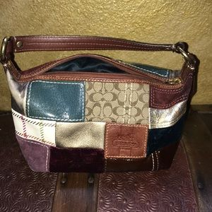 Limited Edition Coach Holiday Patchwork Purse